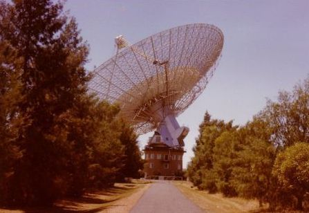 Parkes Radio Telescope. NSW. Oz
